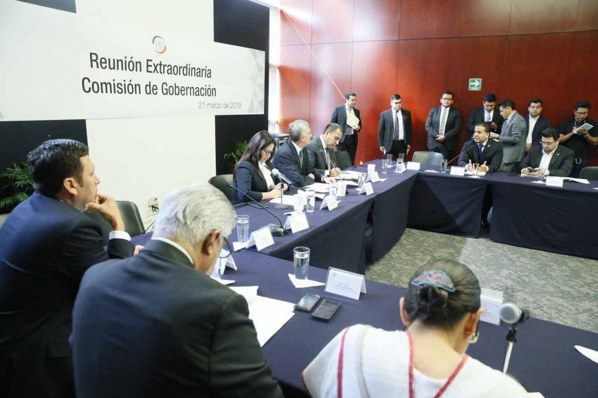 Intervención del senador Damián Zepeda Vidales durante la Reunión extraordinaria de la Comisión de Gobernación, para desahogar el proyecto de dictamen relativo a la designación de la C. Sanjuana Martínez Montemayor, como directora general de Notimex.