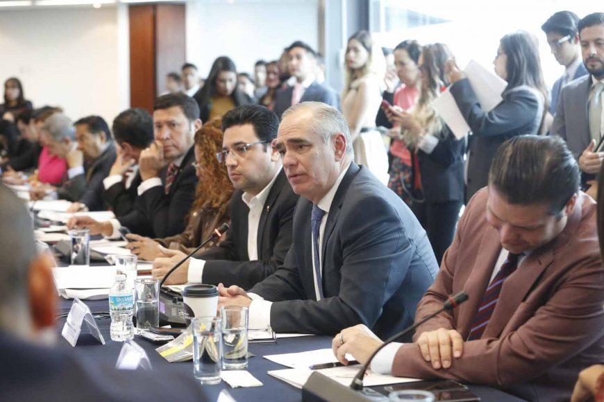 Participación del senador Julen Rementaría Del Puerto, durante la Reunión extraordinaria de la Comisión de Gobernación, para desahogar el proyecto de dictamen relativo a la designación de la C. Sanjuana Martínez Montemayor, como directora general de Notimex.