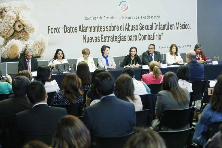 """Palabras de la senadora Josefina Vázquez Mota al inaugurar el Foro: """"Datos alarmantes sobe el abuso sexual infantil en México: Nuevas estrategias para combatirlo""""."""