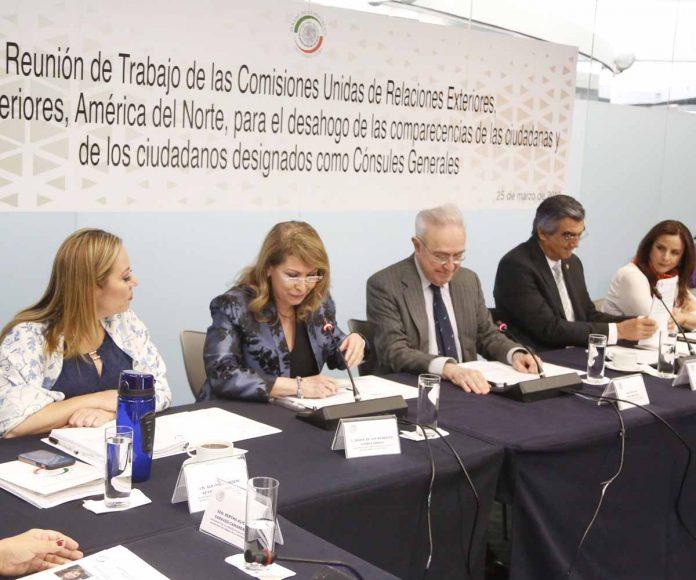 Pregunta de la senadora Alejandra Reynoso Sánchez a María de los Remedios Gómez Arnaud, designada como cónsul general de México en San Francisco, California, en la reunión de las comisiones unidas de Relaciones Exteriores y de Relaciones Exteriores América del Norte.
