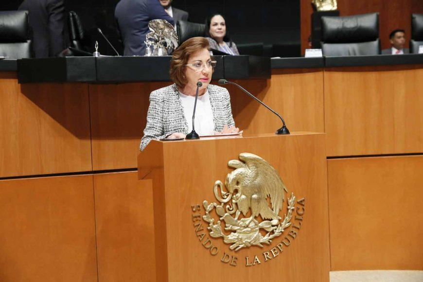 Intervención en tribuna de la senadora María Guadalupe Murguía Gutiérrez, al presentar iniciativa con proyecto de decreto que reforma el artículo 71 de la Constitución Política de los Estados Unidos Mexicanos.