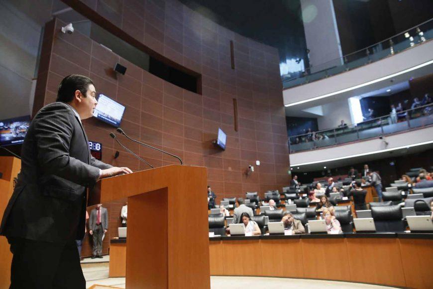 Intervención en tribuna del senador Ismael García Cabeza de Vaca, al presentar iniciativa con proyecto de decreto por el que se reforma la Ley del Instituto del Fondo Nacional de la Vivienda para los Trabajadores.