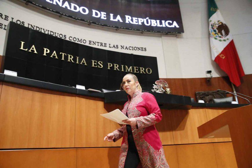 Intervención de la senadora Alejandra Noemí Reynoso Sánchez, al presentar un punto de acuerdo que exhorta a la Secretaría de Hacienda y Crédito Público a reasignar recursos no ejercidos en partidas presupuestales, así como ahorros devueltos por el Senado de la República, a favor del programa de estancias infantiles.