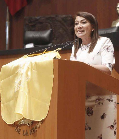 Intervención en tribuna de la senadora Guadalupe Saldaña Cisneros al presentar el posicionamiento del GPPAN a un dictamen de las Comisiones Unidas de Salud y de Estudios Legislativos, el que contiene proyecto de decreto por el que se adiciona una nueva fracción II Bis al artículo 61 de la Ley General de Salud en materia de tamiz neonatal.