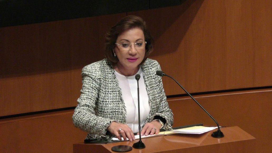 Senadora María Guadalupe Murguía Gutiérrez, al presentar iniciativa con proyecto de decreto que reforma el artículo 71 de la Constitución