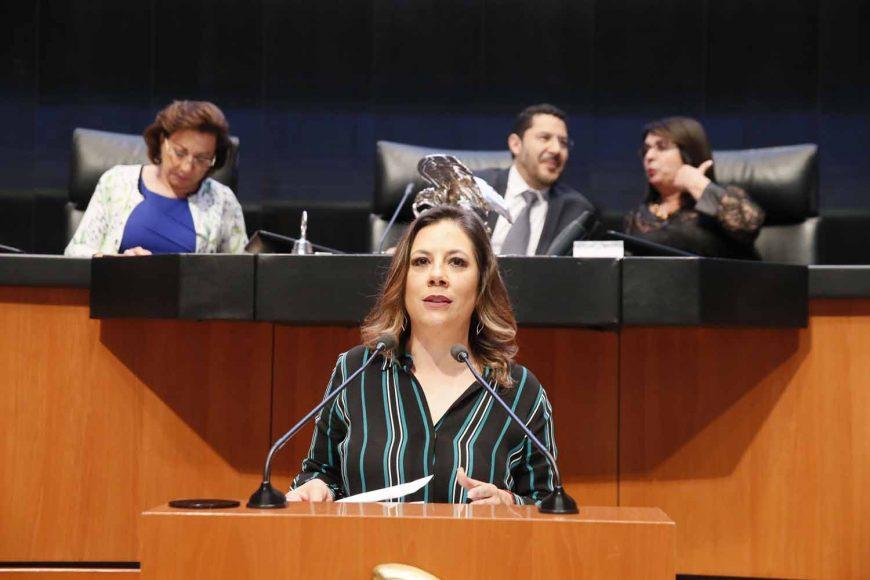 Intervención de la senadora Gina Andrea Cruz Blackledge, al presentar siete dictámenes de las comisiones unidas de Relaciones Exteriores y de Relaciones Exteriores América del Norte, por los que se ratifican nombramientos de cónsules generales de México en Estados Unidos y Puerto Rico.