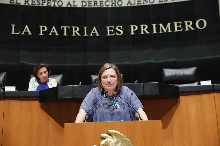 Intervención Intervención de la senadora Xóchitl Gálvez Ruiz, al participar en la discusión de un dictamen de la Comisión de Energía que acuerda la elegibilidad de las nuevas ternas presentadas el 26 de marzo de 2019 por el Ejecutivo Federal, para ocupar el cargo de comisionado de la Comisión Reguladora de Energía.la senadora Xóchitl Gálvez Ruiz, al participar en la discusión de un dictamen de la Comisión de Energía que acuerda la elegibilidad de las nuevas ternas presentadas el 26 de marzo de 2019 por el Ejecutivo Federal, para ocupar el cargo de comisionado de la Comisión Reguladora de Energía.