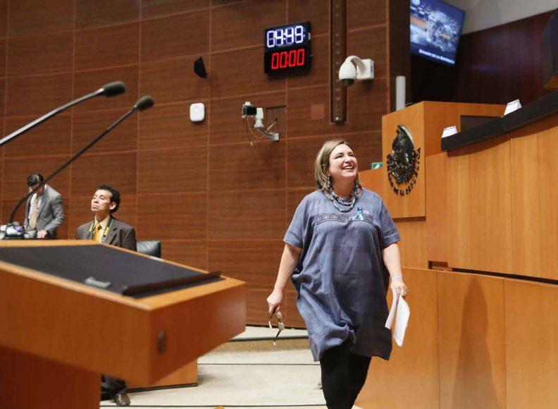 Intervención de la senadora Xóchitl Gálvez Ruiz, al participar en la discusión de un dictamen de la Comisión de Energía que acuerda la elegibilidad de las nuevas ternas presentadas el 26 de marzo de 2019 por el Ejecutivo Federal, para ocupar el cargo de comisionado de la Comisión Reguladora de Energía.
