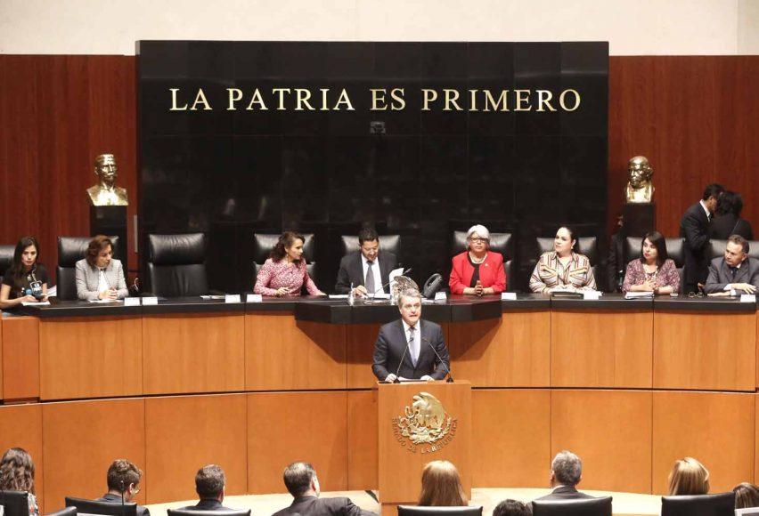 Sesión Solemne para recibir la visita del sr. Roberto Azevedo, Director General de la Organización Mundial de Comercio