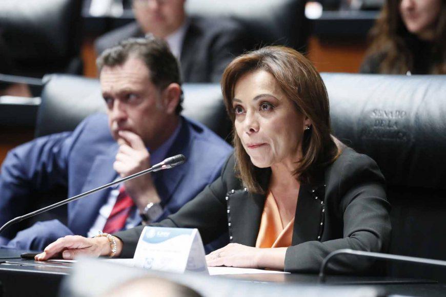 Intervención de la senadora Josefina Vázquez Mota durante la sesión especial con la visita de la Alta Comisionada de las Naciones Unidas para los Derechos Humanos, Michelle Bachelet.
