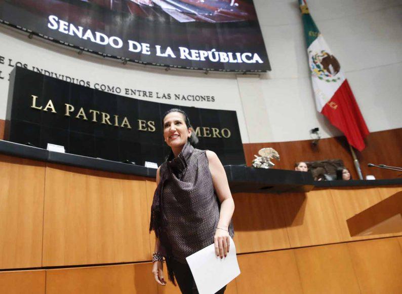 Intervención de la senadora Kenia López Rabadán, al presentar una iniciativa reforma diversas disposiciones de la Ley del Seguro Social.