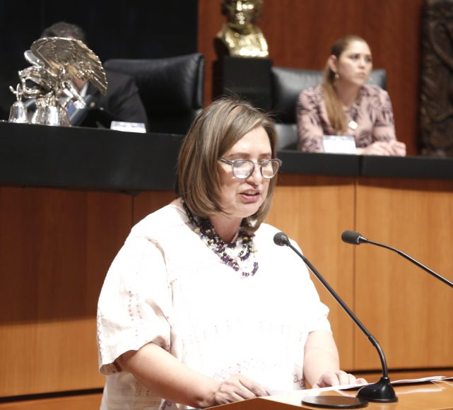 Intervención de la senadora Xóchitl Gálvez Ruiz, al presentar una iniciativa que reforma diversas disposiciones de los artículos 2, 27, 53, 73, 115 y 116 de la Constitución.