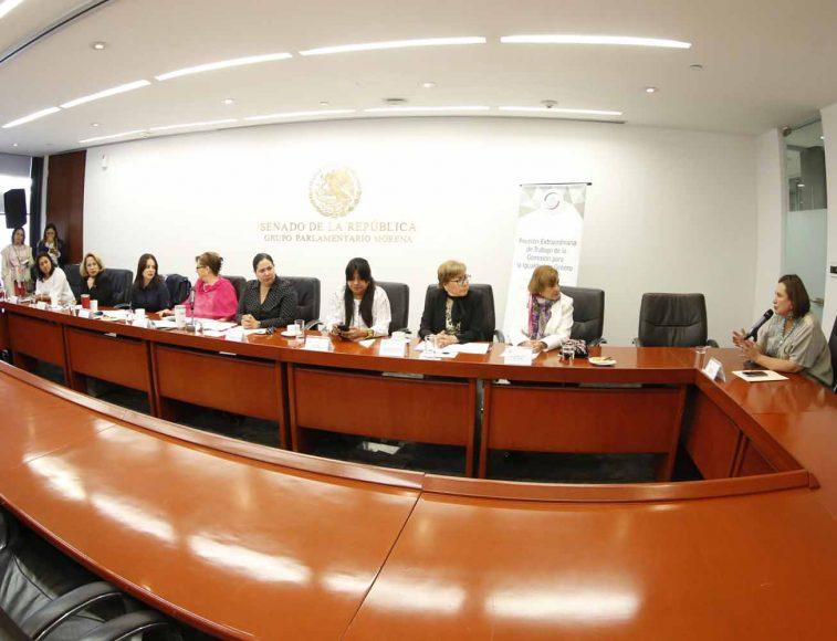 Intervención de la senadora Xóchitl Gálvez Ruiz durante la reunión de trabajo de la Comisión para la Igualdad de Género.