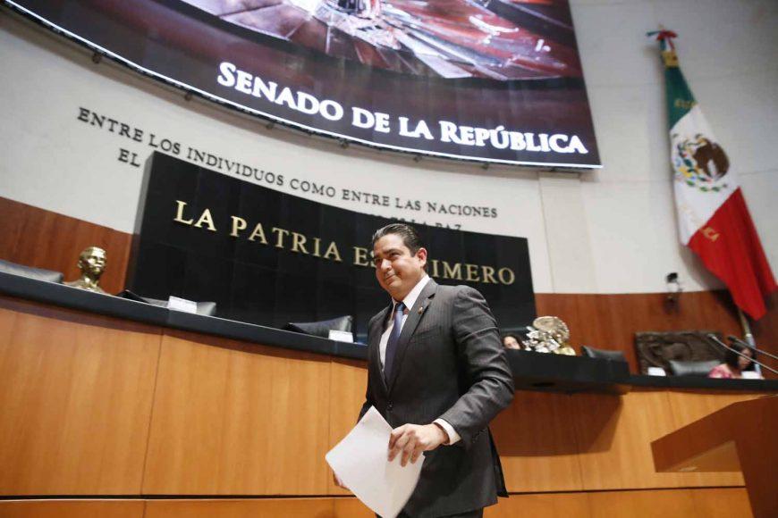 Intervención en tribuna del senador Ismael García Cabeza de Vaca para referirse a un dictamen de la Comisión de Energía, por el que acuerda la idoneidad de tres Consejeros Independientes para el Consejo de Administración de Petróleos Mexicanos, propuestos por el Ejecutivo Federal el 9 de abril de 2019.