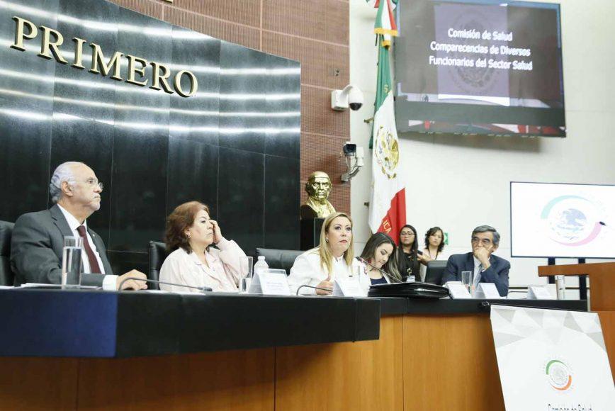 Intervención de la senadora Alejandra Reynoso Sánchez, en la comparecencia de diversos funcionarios del sector salud ante la Comisión de Salud.