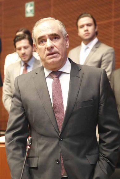 Intervención desde su escaño del senador Julen Rementería del Puerto para a los hechos sucedidos en Minatitlán, Veracruz.