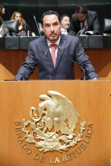 Intervención del senador Raúl Paz Alonzo, al participar en la discusión de un dictamen de las comisiones unidas de Derechos de la Niñez y de la Adolescencia, y de Estudios Legislativos, que adiciona una fracción XXI al artículo 13 y un Capítulo Vigésimo Primero al Título Segundo de la Ley General de los Derechos de Niñas, Niños y Adolescentes.