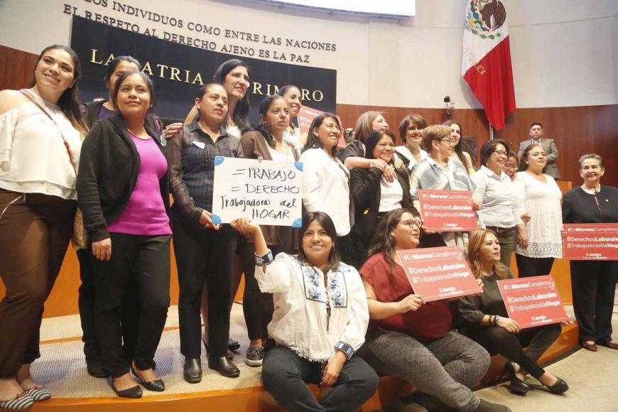 Votación a reformas a la Ley Federal del Trabajo y de la Ley del Seguro Social, en materia de las personas trabajadoras del hogar.