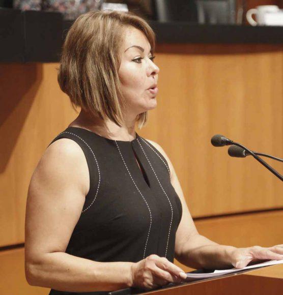 Intervención de la senadora Minerva Hernández Ramos, al presentar un dictamen de la Comisión de Educación, que exhorta a la Secretaría de Hacienda y Crédito Público a que remita a esta Soberanía un informe sobre el impacto presupuestal que tendrá la aprobación de la reforma educativa.