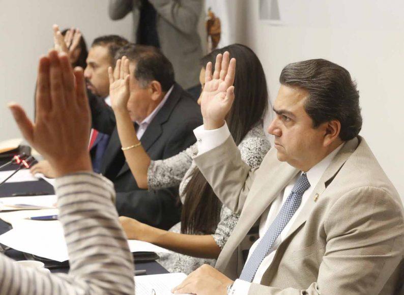 Senador Roberto Moya Clemente, durante la Comisión Relaciones Exteriores Europa.