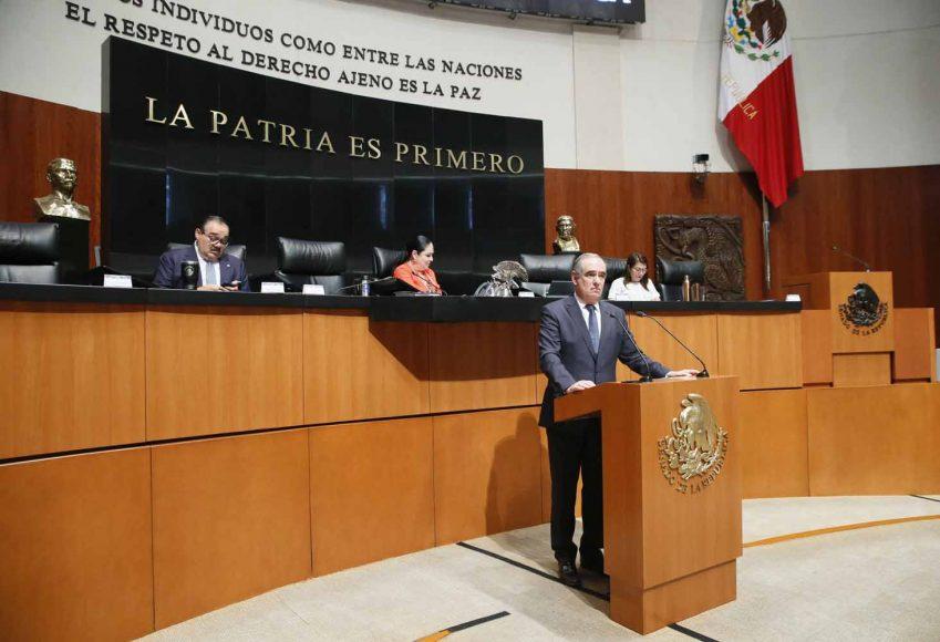 Intervención del senador Julen Rementería del Puerto, al presentar el posicionamiento del GPPAN en relación con un dictamen de la Comisión de Seguridad Pública, que aprueba la Estrategia Nacional de Seguridad Pública del gobierno de la República.