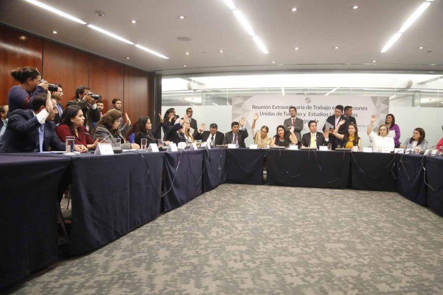 Reunión de las comisiones unidas de Turismo y de Estudios Legislativos, Segunda