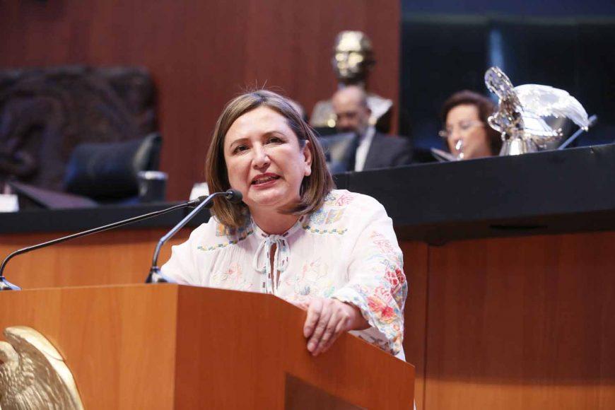 Intervención en tribuna de la senadora Xóchitl Gálvez Ruiz para referirse al acuerdo de JUCOPO, en relación a los recursos utilizados por el gobierno del estado de Quintana Roo, para la estrategia de atención del recale masivo del sargazo en el caribe mexicano, en el ejercicio fiscal 2018.