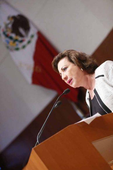 Intervención de la senadora Guadalupe Murguía Gutiérrez, al presentar reservas a un dictamen que reforma diversas disposiciones constitucionales en materia educativa.