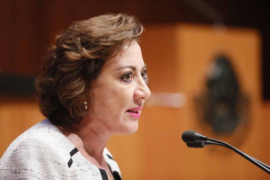 Senadora suplente de la Comisión Permanente: Guadalupe Murguía Gutiérrez