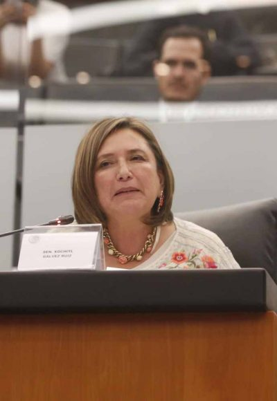 Intervención de la senadora Xóchitl Gálvez Ruiz durante la comparecencia del secretario de Comunicaciones y Transportes, Javier Jiménez Espriú, ante la Comisión del ramo.