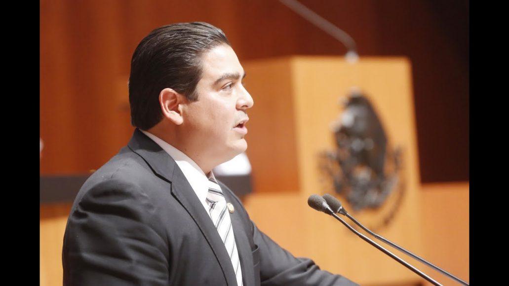 Senador Ismael García Cabeza de Vaca presentar posicionamiento del PAN en el marco del análisis de la Estrategia Nacional de Seguridad Pública