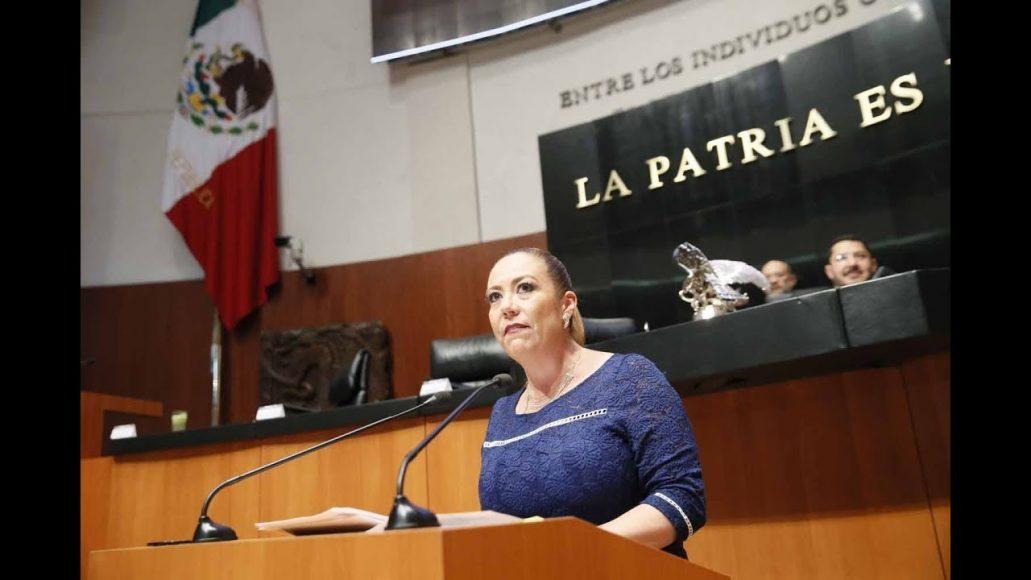Senadora Alejandra Reynoso al fijar el posicionamiento del PAN ante dictamen de comisiones unidas de Trabajo y Previsión Social; y de Estudios Legislativos, Segunda