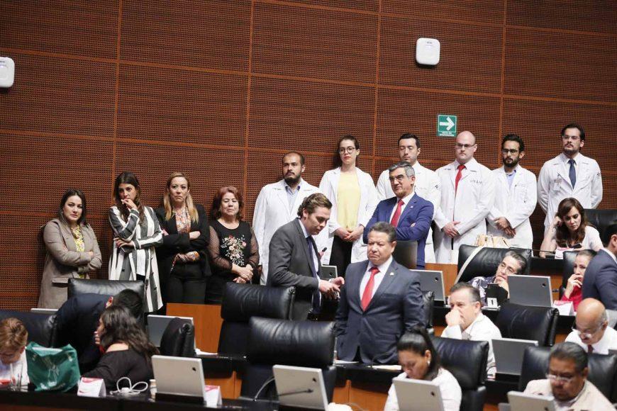 Votación del dictamen sobre los médicos residentes