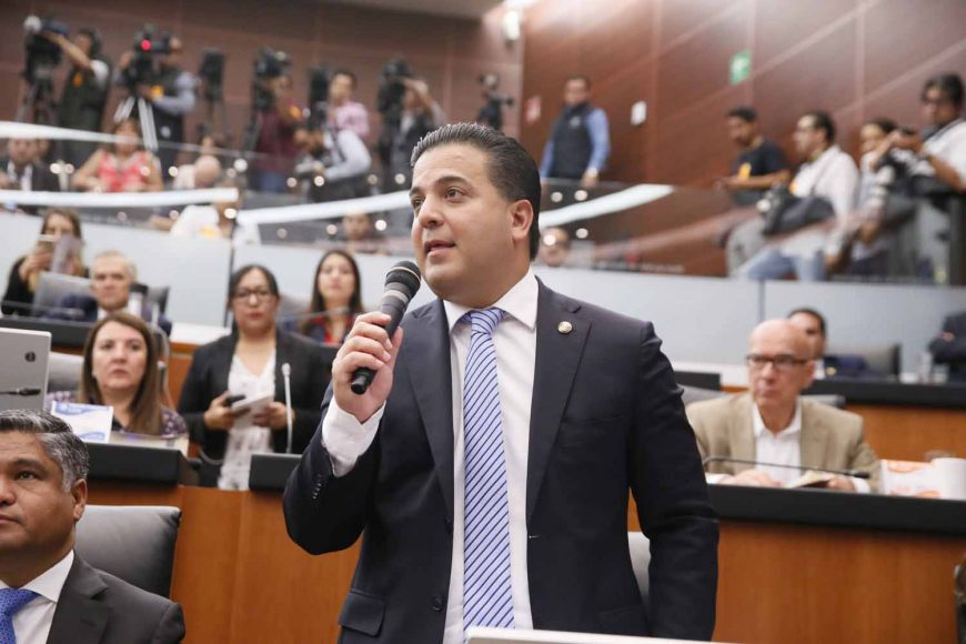 Senador Damián Zepeda Vidales