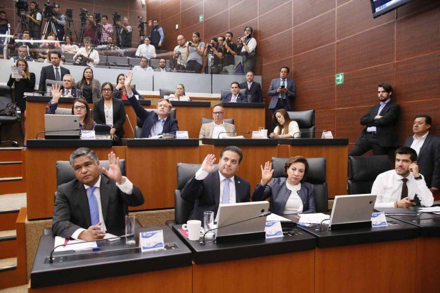 Senadora Guadalupe Murguía, Senador Damián Zepeda Vidales,Senadora Guadalupe Murguía,