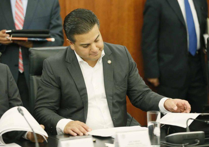 Intervención del senador Damián Zepeda Vidales durante la reunión de trabajo de comisiones unidas de Puntos Constitucionales, Educación y de Estudios Legislativos Segunda.