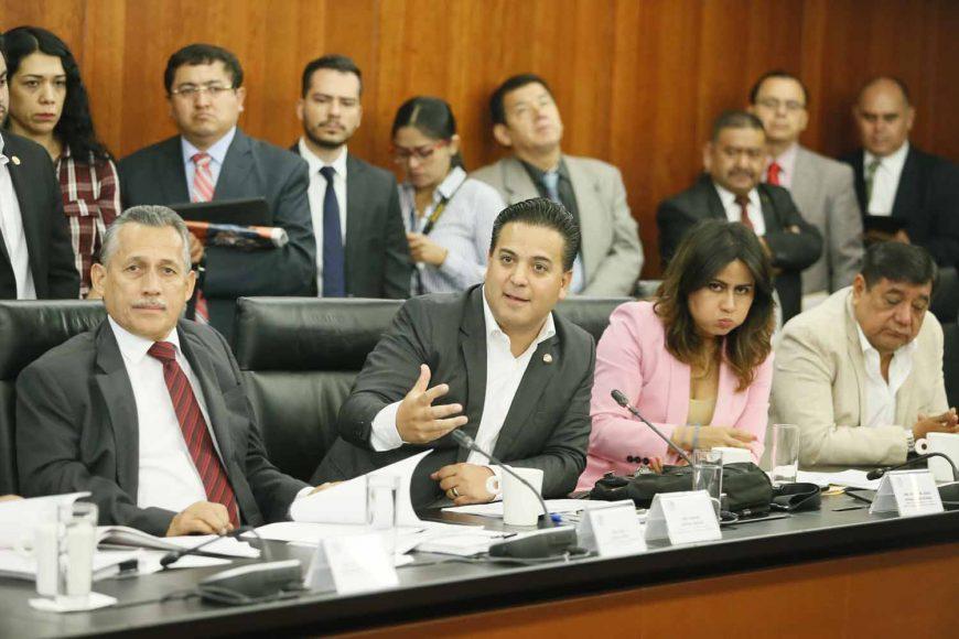 Intervención del senador Damián Zepeda Vidales durante la reunión de trabajo de comisiones unidas de Puntos Constitucionales, Educación y de Estudios Legislativos Segunda