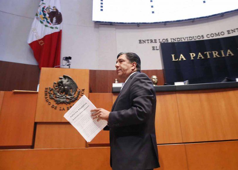 Intervención en tribuna del senador Marco Antonio Gama Basarte para referirse a un dictamen de las Comisiones Unidas