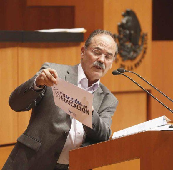 Intervención en tribuna del senador Gustavo Madero Muñoz  para presentar reserva que reforma el primer párrafo de la fracción IX del artículo tercero, el inciso c) de la misma fracción IX y adiciona un segundo párrafo al transitorio décimo quinto.