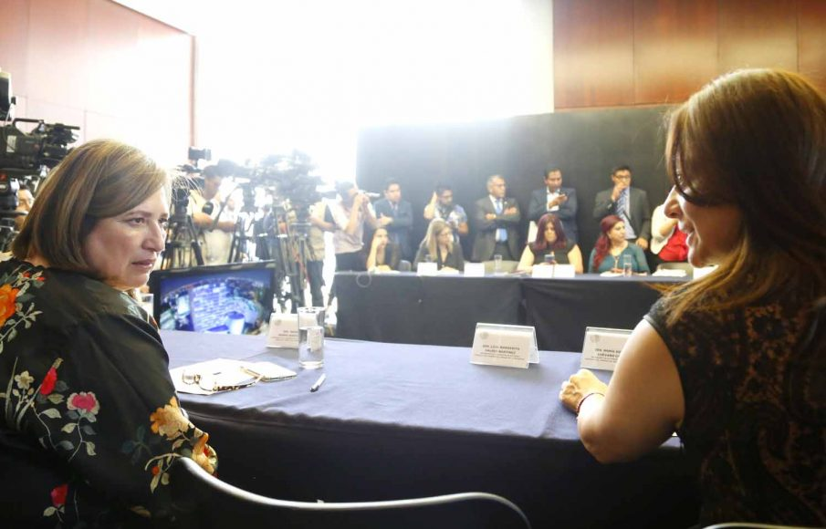 Intervención de la senadora Xóchitl Gálvez Ruiz durante la reunión de trabajo de las comisiones unidas de Trabajo y Previsión Social, Igualdad de Género y Estudios Legislativos Primera.