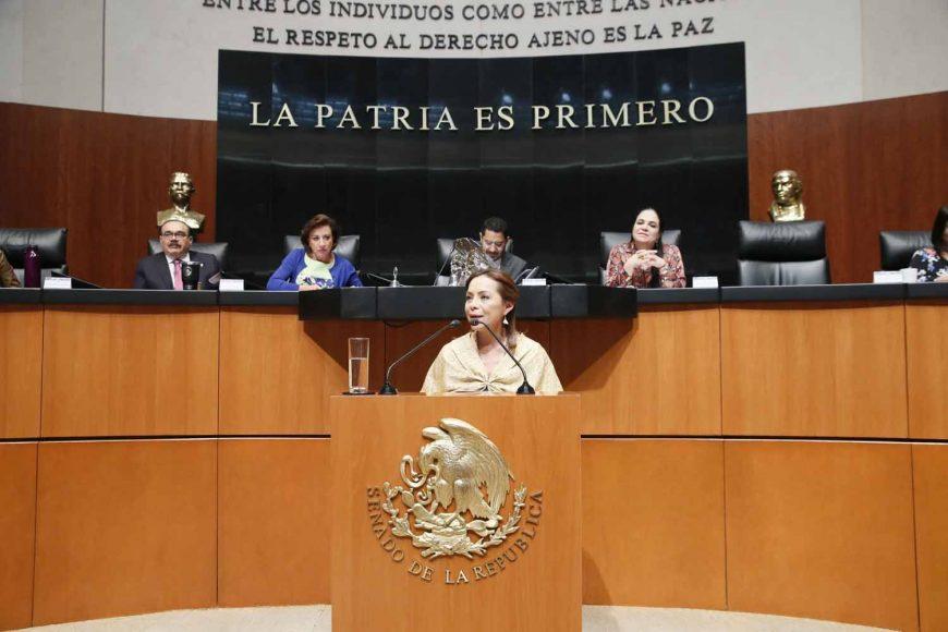 Senadora Josefina Vázquez, para referirse a dictamen de Comisiones Unidas de Puntos Constitucionales