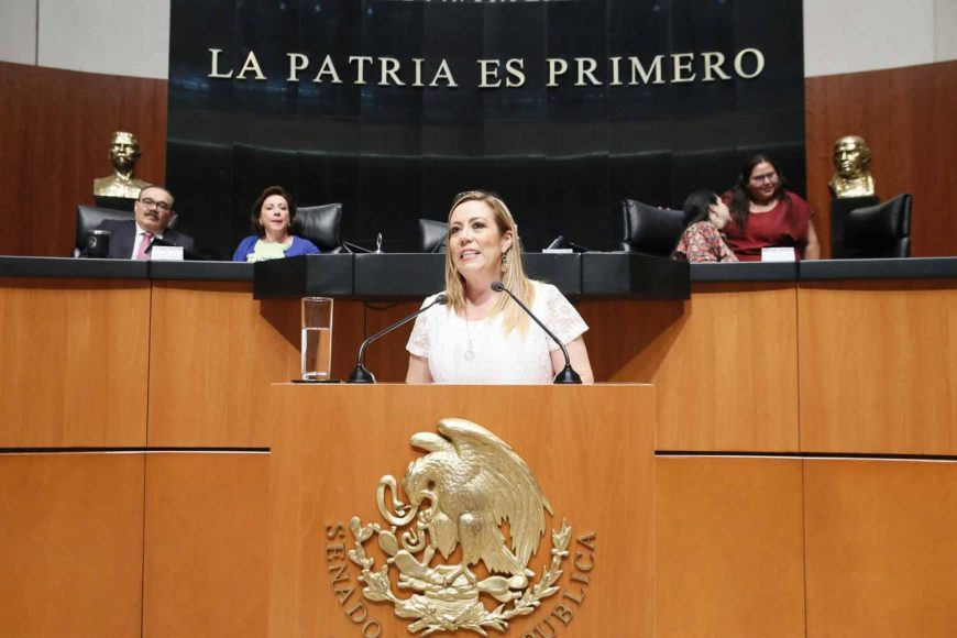 Intervención de la senadora Alejandra Noemí Reynoso Sánchez, al participar en la discusión de un dictamen de las comisiones unidas de Puntos Constitucionales, Para la Igualdad de Género y de Estudios Legislativos, que reforma diversos artículos de la Constitución.