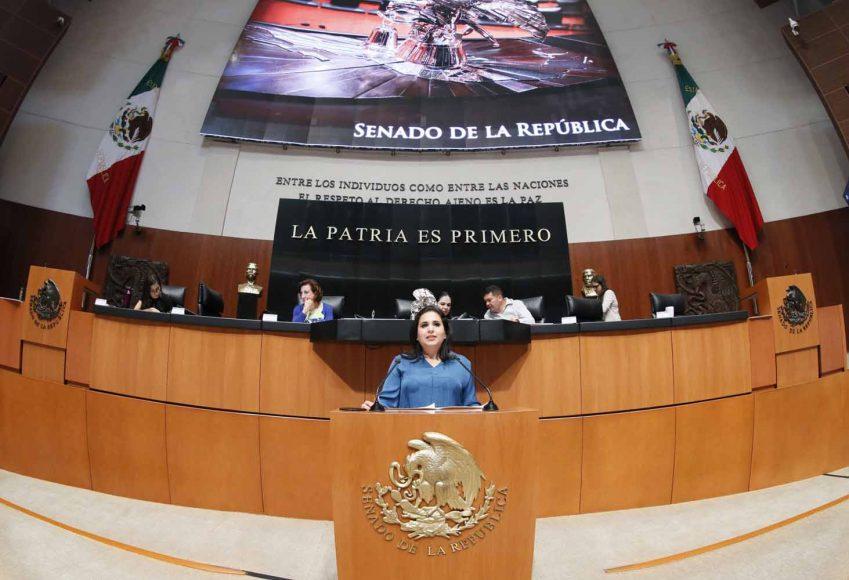 Intervención en tribuna de la senadora Mayuli Latifa Martínez Simón al presentar el Dictamen de las Comisiones Unidas de Trabajo y Previsión Social; Para la Igualdad de Género y de Estudios Legislativos, Primera, el que contiene proyecto de decreto por el que se reforman, adicionan y derogan diversas disposiciones de la Ley Federal del Trabajo y de la Ley del Seguro Social, en materia de personas trabajadoras del hogar.
