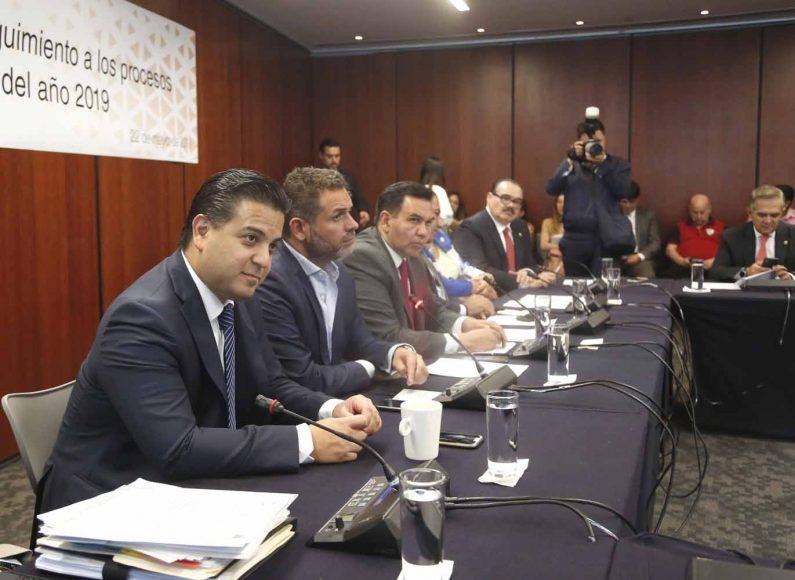 Intervención del senador Damián Zepeda Vidales durante la reunión de instalación del Grupo de trabajo para dar seguimiento a los procesos electorales locales del año 2019.