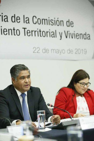 El senador Víctor Fuentes Solís, presidió la reunión de la Comisión de Desarrollo Urbano, Ordenamiento Territorial y Vivienda.