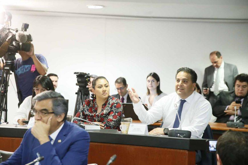 Intervención del senador del PAN Damián Zepeda Vidales, en la reunión de trabajo de las comisiones unidas de Relaciones Exteriores, de Puntos Constitucionales, de Economía y de Relaciones Exteriores América del Norte, para el análisis del Protocolo que incluye el Tratado entre México, Estados Unidos y Canadá (T-MEC), así como sus seis acuerdos paralelos.