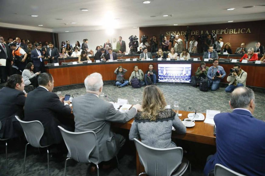 Intervención de la senadora del PAN Alejandra Noemí Reynoso, en la reunión de trabajo de las comisiones unidas de Relaciones Exteriores, de Puntos Constitucionales, de Economía y de Relaciones Exteriores América del Norte, para el análisis del Protocolo que incluye el Tratado entre México, Estados Unidos y Canadá (T-MEC), así como sus seis acuerdos paralelos.