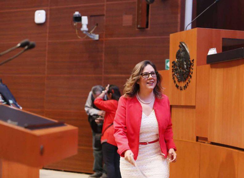 Intervención en tribuna de la senadora Gina Andrea Cruz Blackledge, al presentar el dictamen que contiene proyecto de decreto que aprueba el Protocolo por el que se sustituye el Tratado de Libre Comercio de América del Norte por el Tratado entre los Estados Unidos Mexicanos, Estados Unidos de América y Canadá.