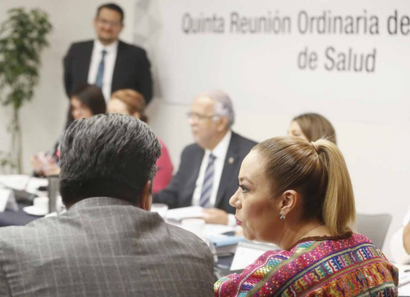Senadora Alejandra Reinoso participa en reunión de la Comisión de Salud
