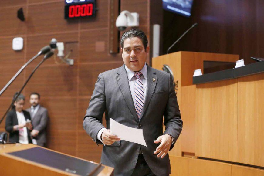 Senador Ismael García Cabeza de Vaca presentar posicionamiento del PAN en materia de energía